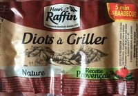 Diots a griller - Product - fr