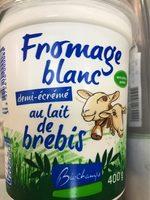 Yaourt Lait Brebis 1/2 Écrémé - Product - fr