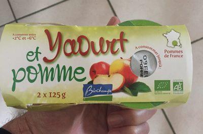 Yaourt Et Pomme - Product