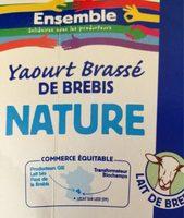 Yaourt brassé de brebis nature - Product