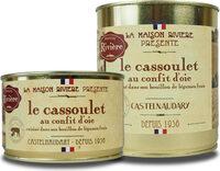 Cassoulet au confit d'oie - Produit - fr