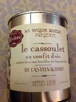 le cassoulet au confit d'oie de Castelnaudary cuisiné dans son bouillon de légumes frais, boîte 4/4 - Product - fr