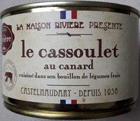 le cassoulet au Canard cuisiné dans son bouillon de légumes frais - Produit - fr