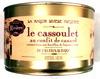 Le cassoulet au confit de canard de Castelnaudary cuisiné dans son bouillon de légumes frais, boîte 2/1 - Produit