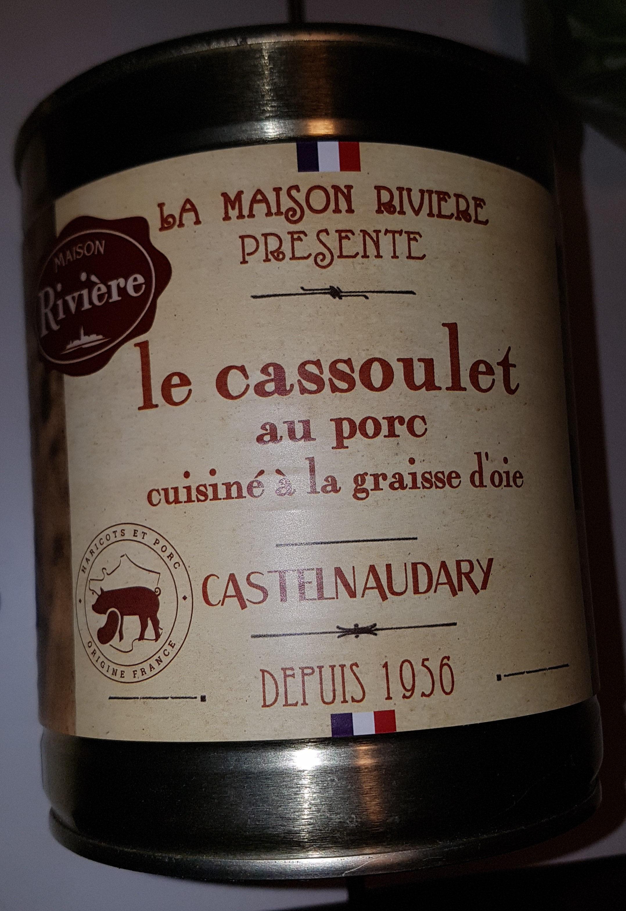 Cassoulet Castelnaudary au porc MAISON RIVIERE, boîte 4/4 - Product