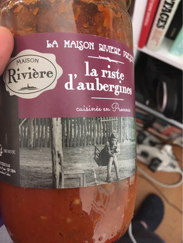 la riste d'aubergines - Product - fr
