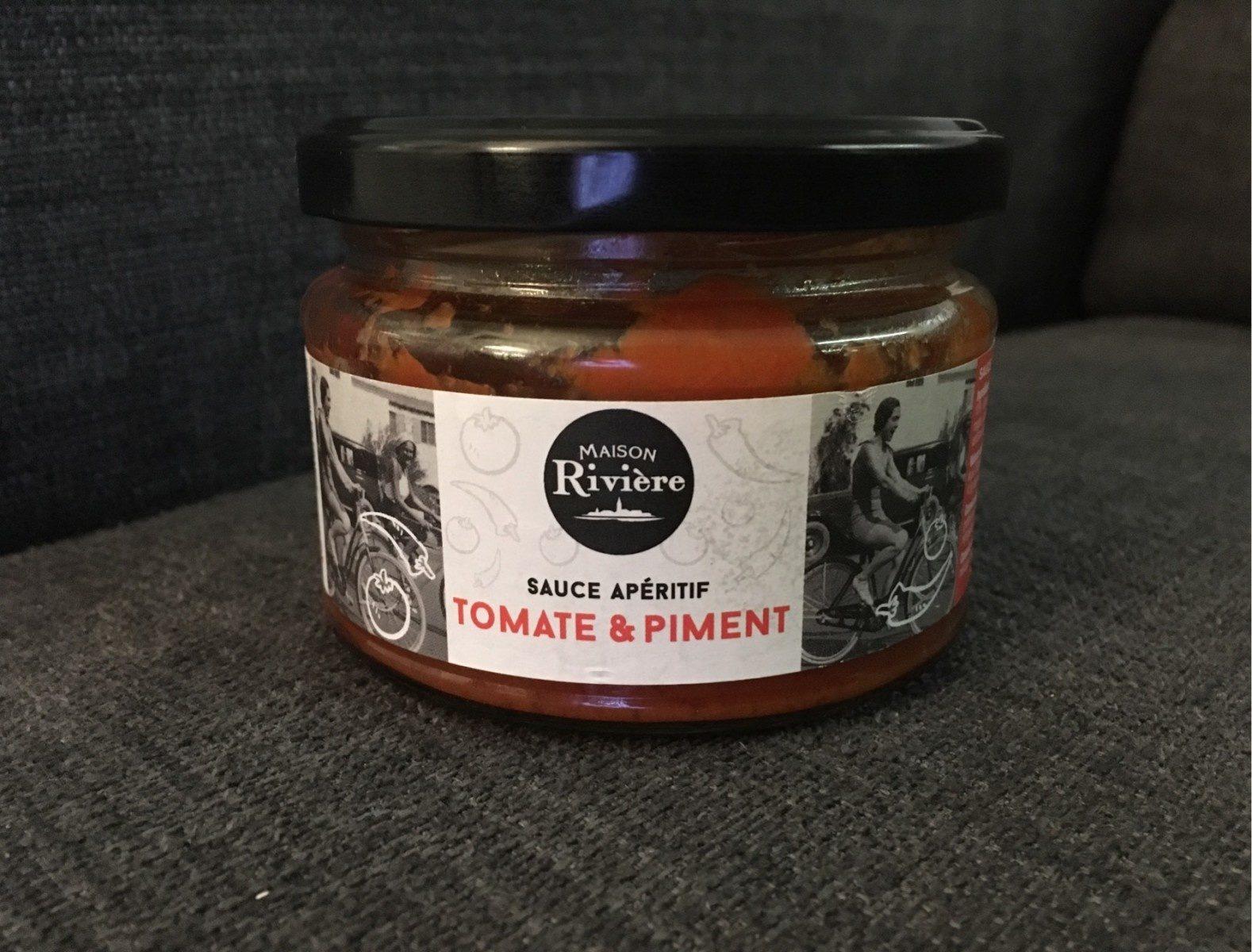 sauce apéritif tomate & piment - Product - fr