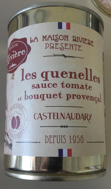 les quenelles sauce tomate et bouquet provençal, boîte 1/2 haute - Product