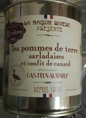 Pommes de terre sarladaises et confit de canard - Product - fr