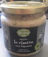 Le risotto aux légumes parmesan et vin blanc Riesling - Product - fr