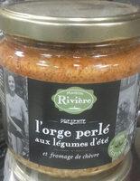 L'orge perlé aux légumes d'été et fromage de chèvre - Product - fr