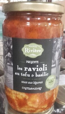 Ravioli au tofu & basilic - Product - fr