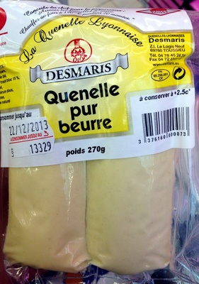 Quenelle pur beurre - Product