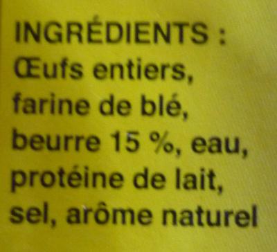La Quenelle Lyonnaise - Ingrédients
