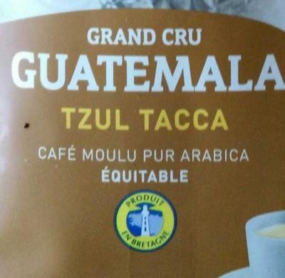Pure origine Guatémala - Ingrediënten
