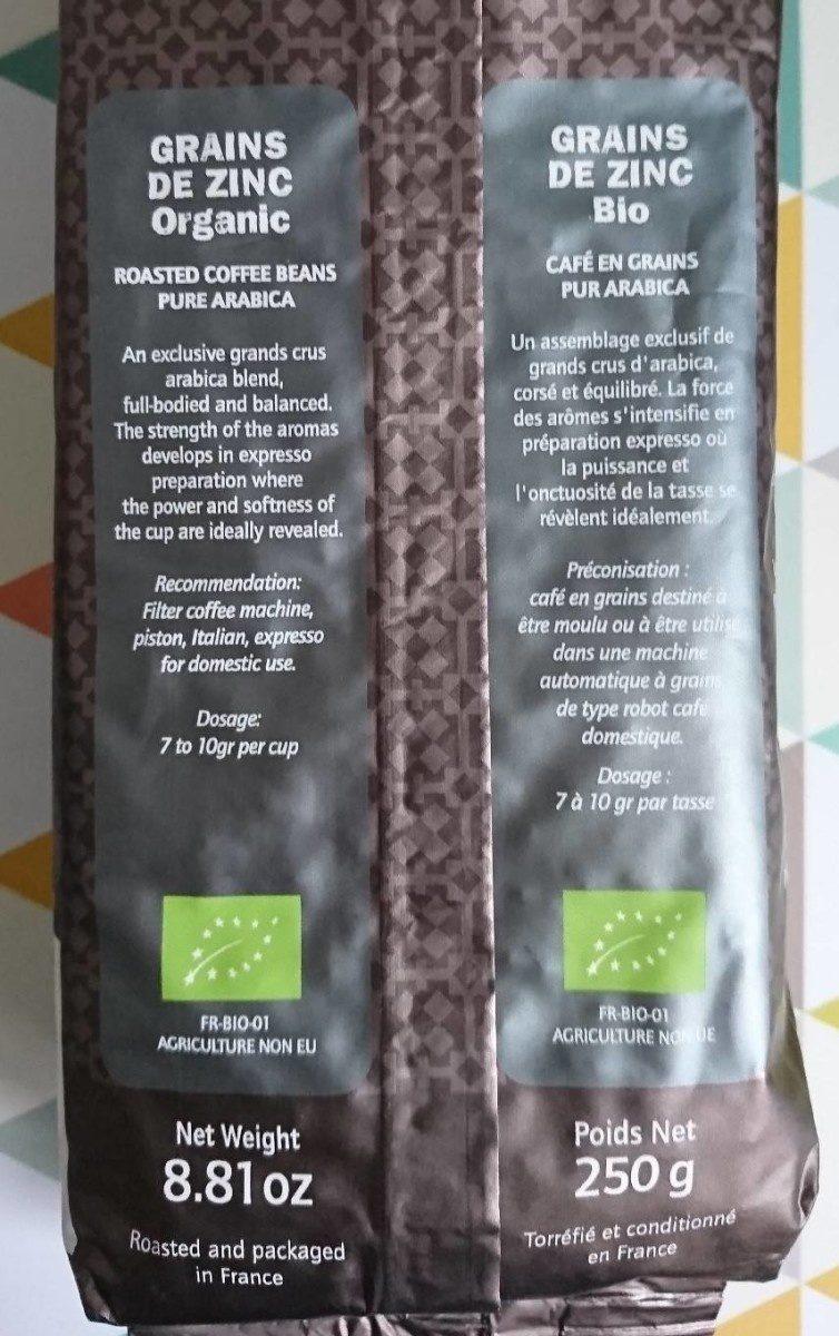 Grains de zinc - Ingrediënten - fr