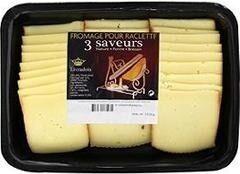Fromage pour raclette nature/poivre/Brezain - Produit - fr