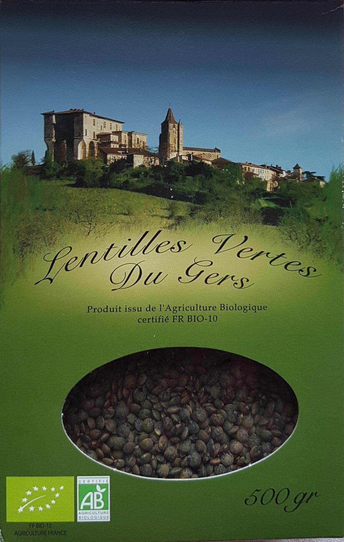 Lentilles vertes du gers - Produit - fr