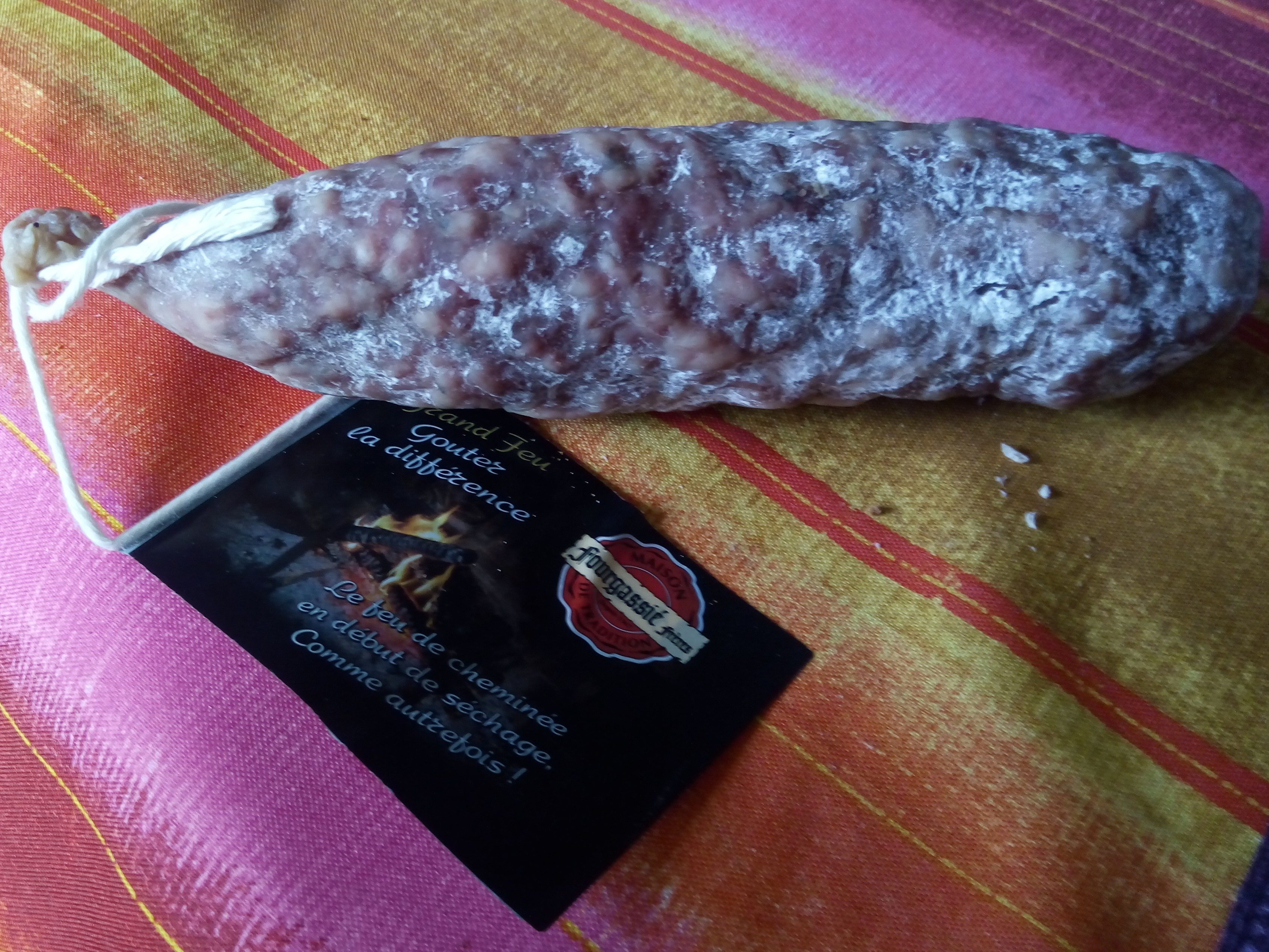 Saucisson sec grand feu - Produit