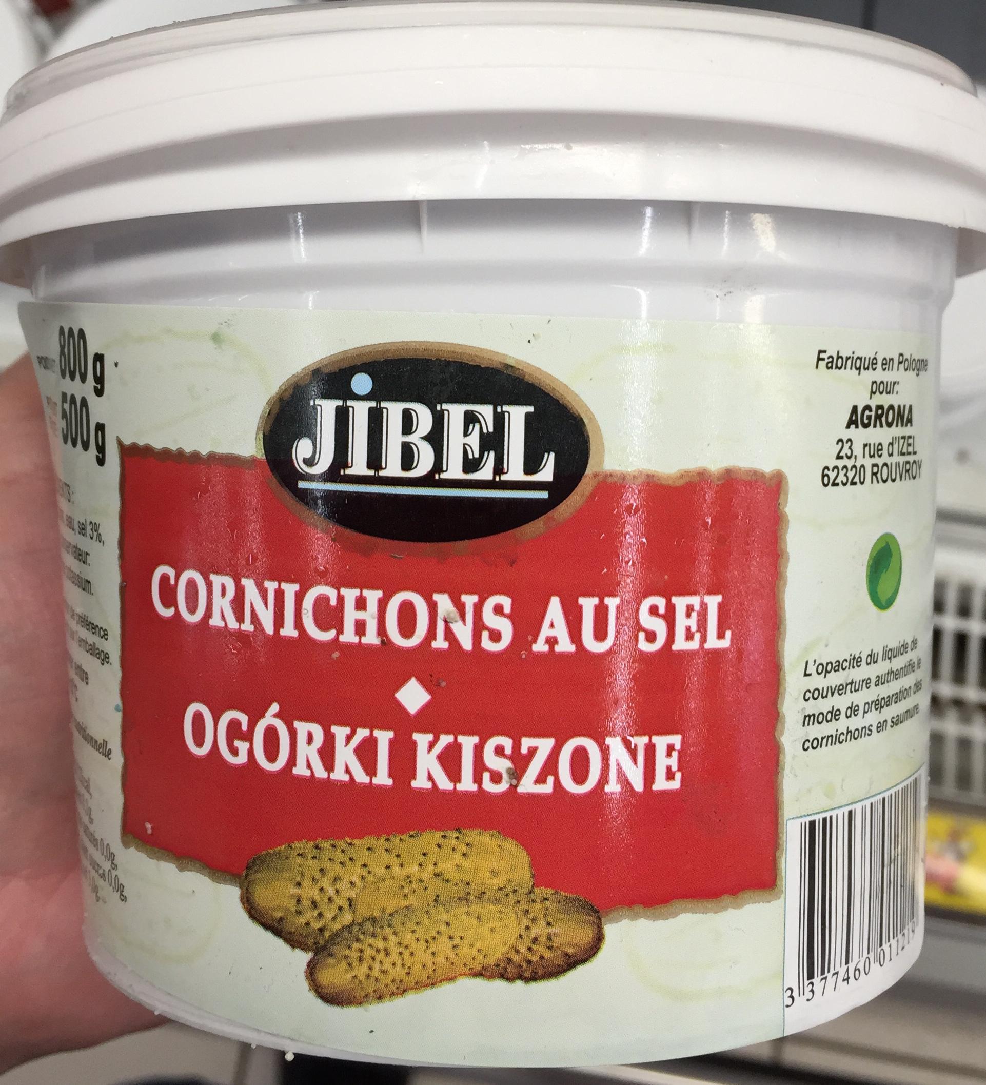 Cornichons au sel - Produit