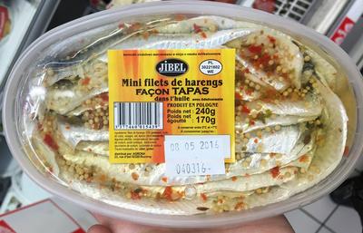 Filets de harengs façon tapas - Product - fr