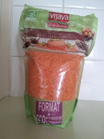 Lentille corail Bio - 1 kg - Vijaya - Produit - fr