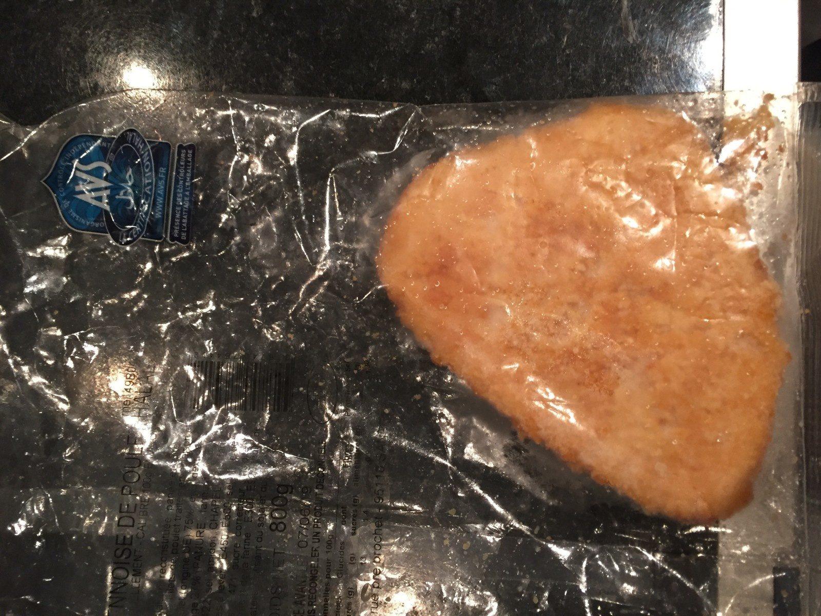 Escalope viennoise de poulet halal - Ingredients - fr