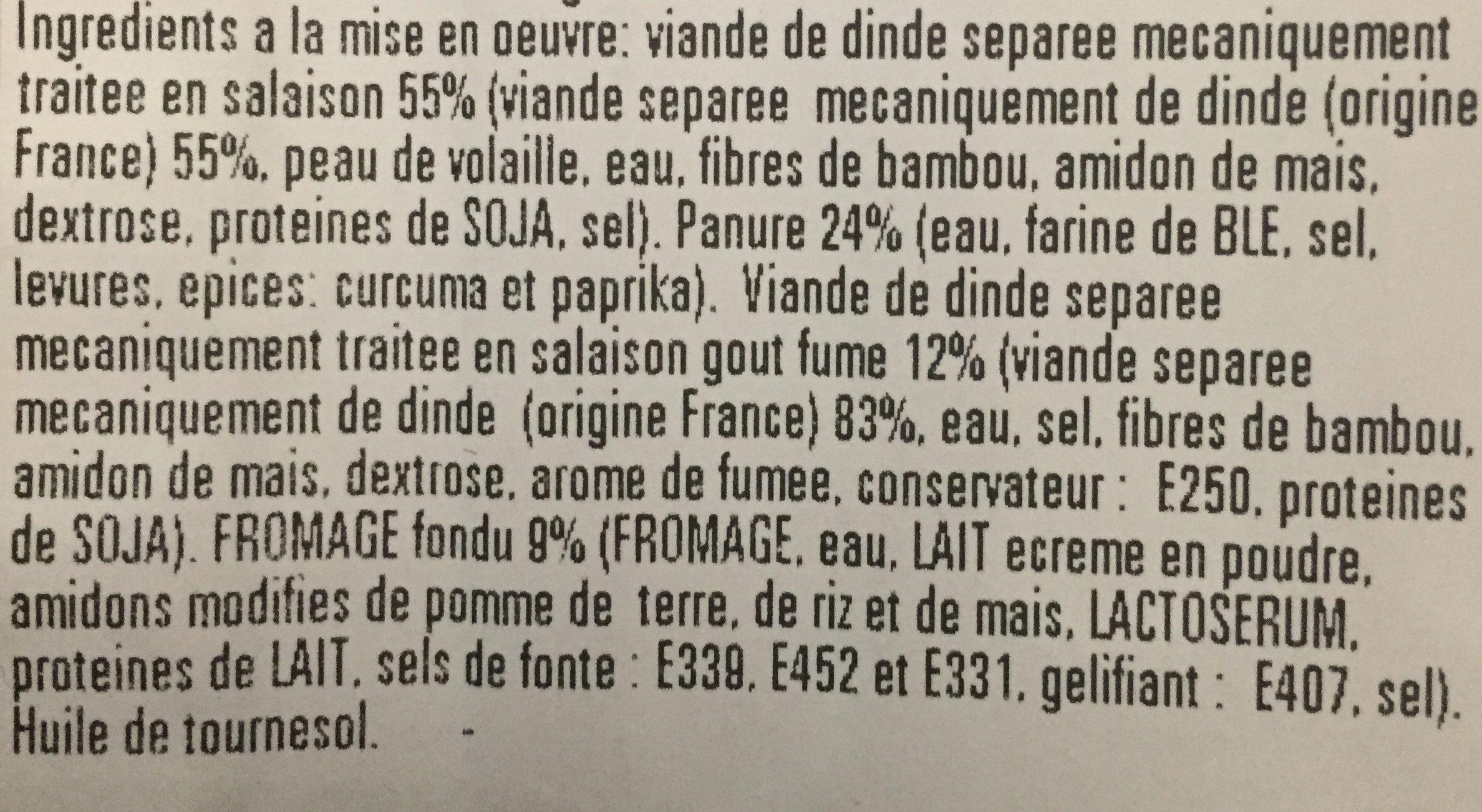 Cordon de volaille - Ingrédients - fr