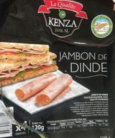 Jambon de dinde - Produit - fr