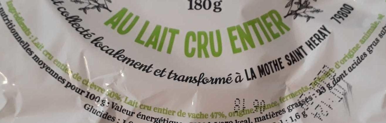Le mi-chèvre - Ingrediënten - fr