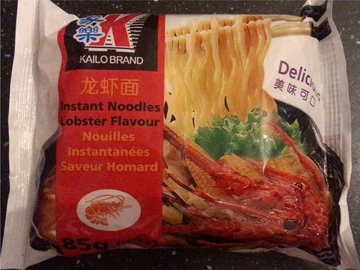 Nouilles instantanées saveur homard - Prodotto - fr