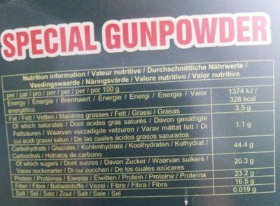 Thé vert (spécial gunpowder) - 2
