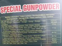 Thé vert (spécial gunpowder) - Valori nutrizionali - fr