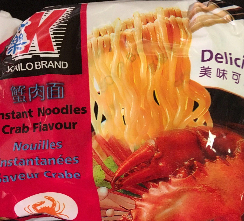 Noodles crab - Produit
