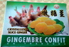 Gingembre confit en tranches - Product