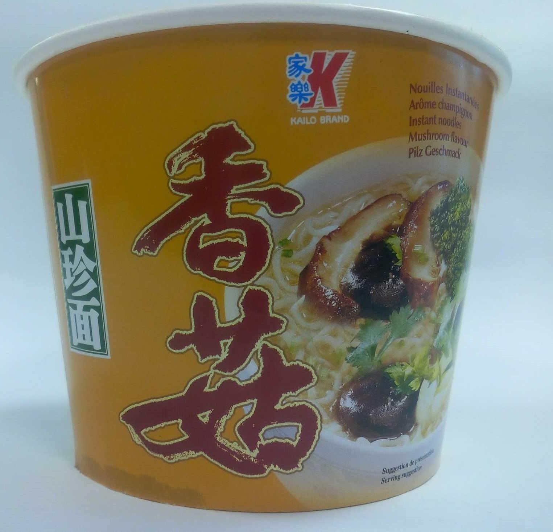 Instant noodles mushroom flavour - Prodotto - fr