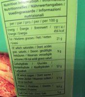 Instant noodles chicken flavour - Informations nutritionnelles - fr