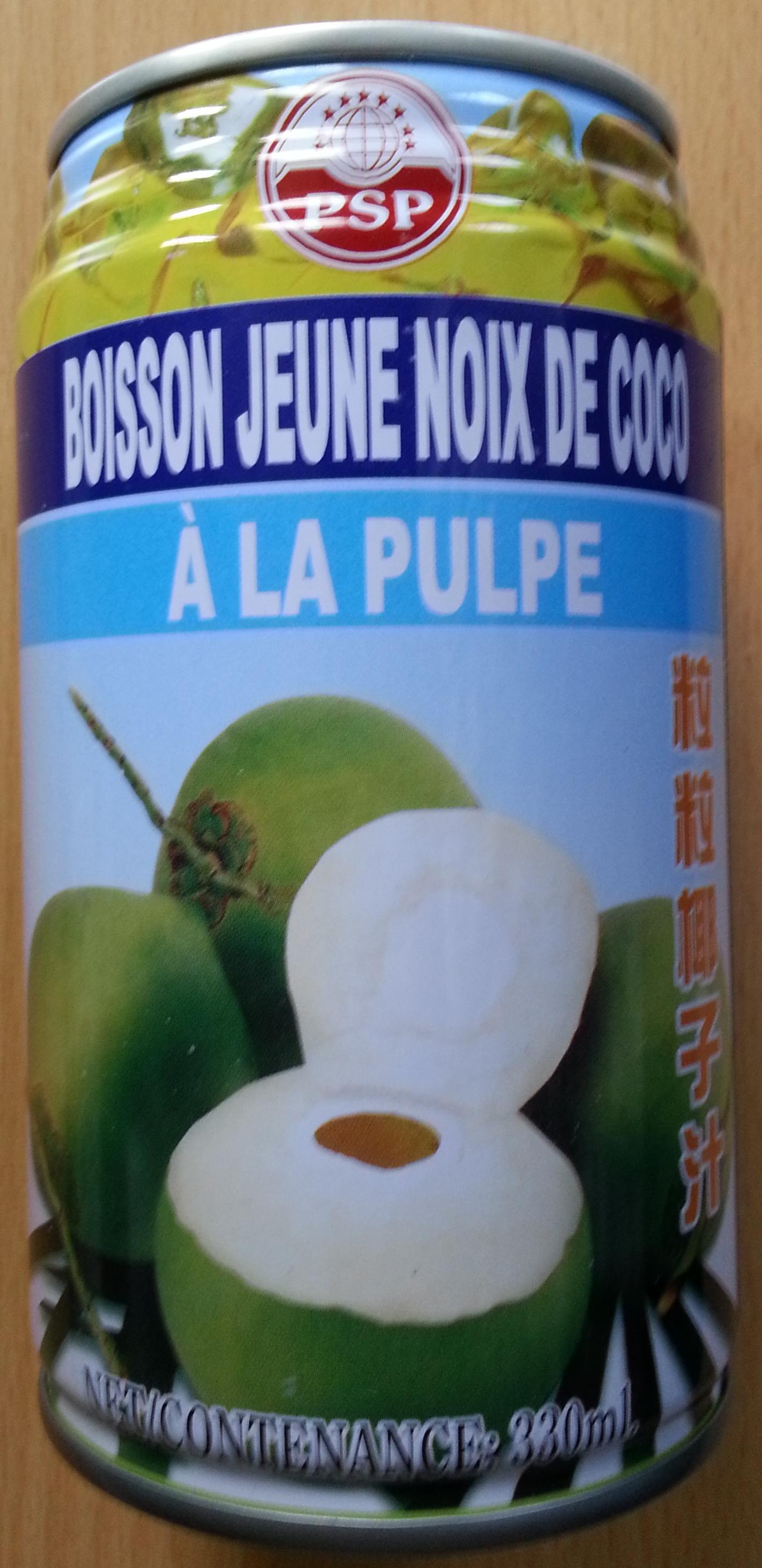 Souvent Boisson jeune noix de coco à la pulpe - PSP - 33 cl QW54