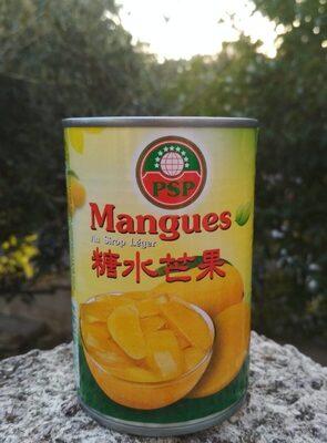 Mangue Au Sirop TWIN ELEPHANTS 425G - Product - fr