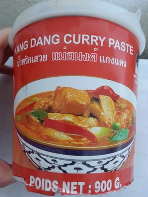 Pâte de curry rouge - Produit