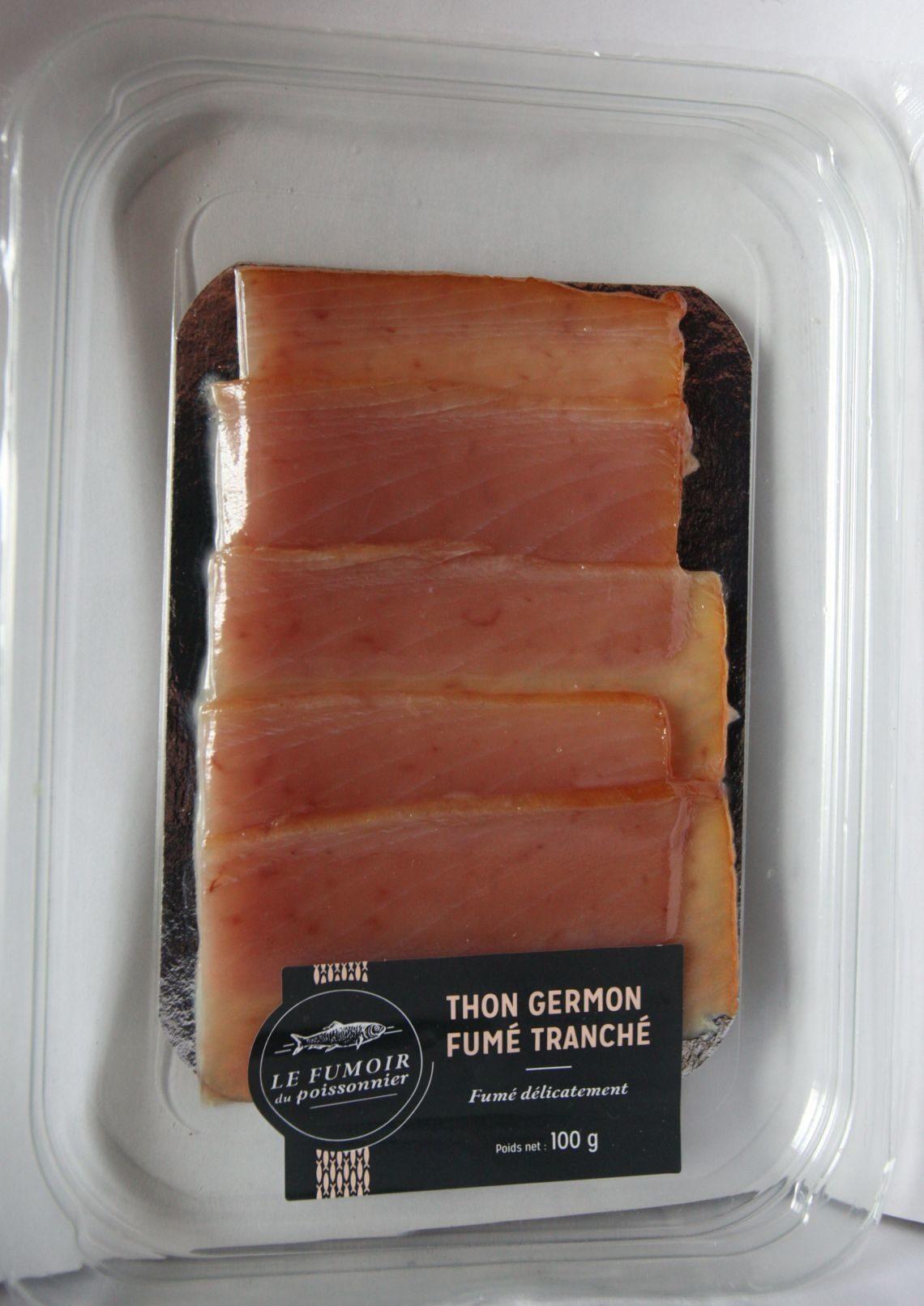 Thon fumé tranché - Produit - fr