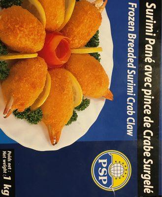 Surimi pane avec pince de crabe - Produit - fr