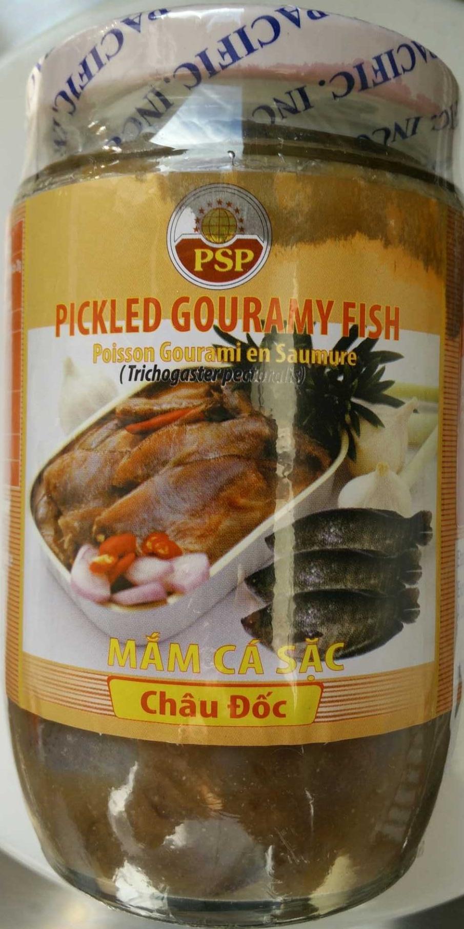Poisson Gourami en saumure - Produit
