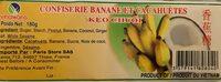 Confiserie banane et cacahuètes Keo Chuoi - Produit - fr