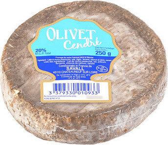 Fromage Olivet Cendré, - Produit - fr