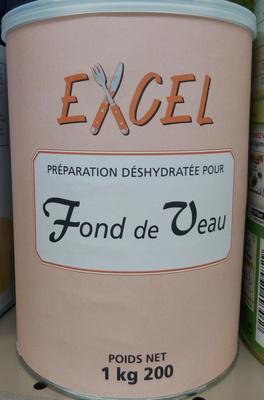 Préparation déshydratée pour fond de veau - Produit - fr
