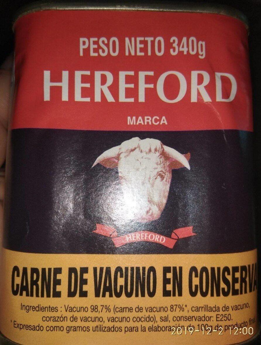 Carne enlatada - Product - es