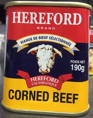 Corned beef Hereford - Produit