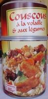 Couscous à la volaille & aux légumes (2-3 personnes) - Product - fr