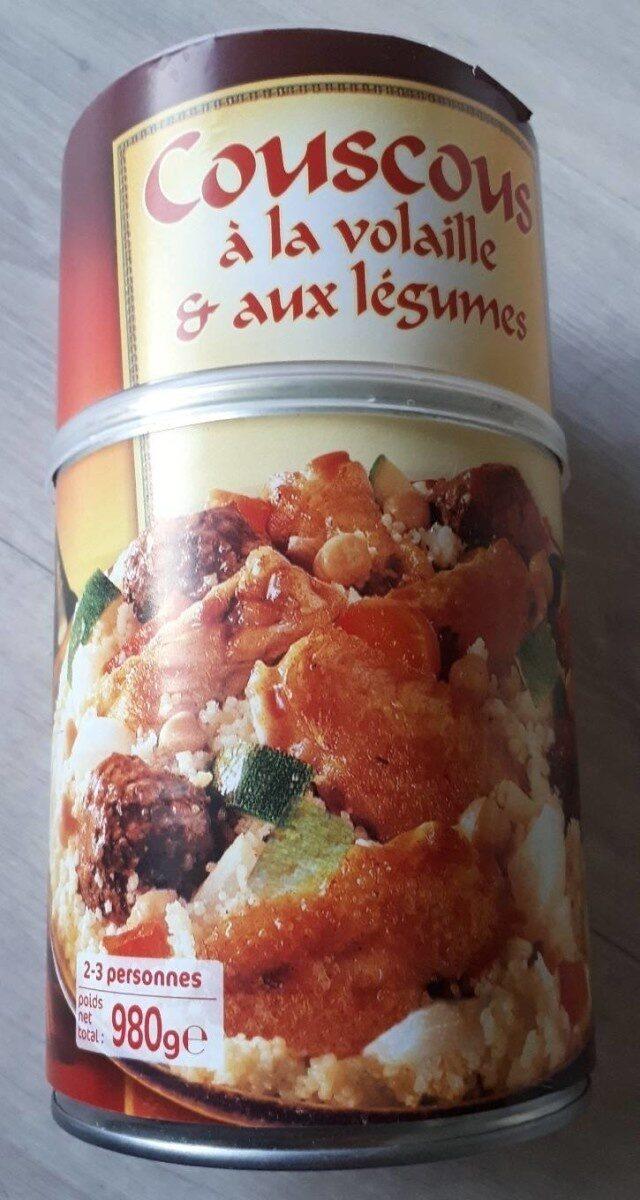 Couscous à la volaille & aux légumes (2-3 personnes) - Nutrition facts - fr